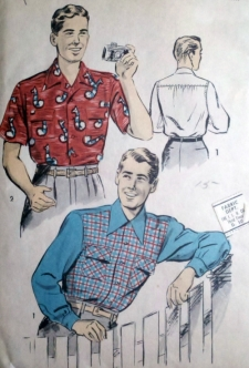 every guy knows how the story goes when it comes to wearing his tropical inspired shirt
