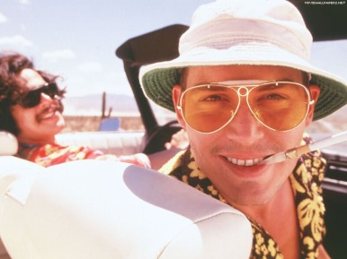 johnny depp inspires in fear and loathing in las vegas