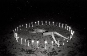 teen witch nude beach candles