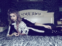 Teen Witch Skeleton on bed