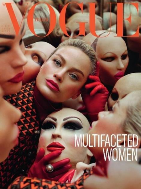 Vogue Italia Face the Future