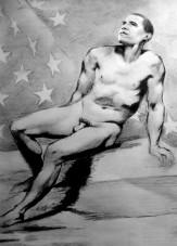 Karine Percheron-Daniels barack obama nude