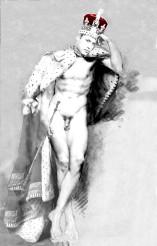 Karine Percheron-Daniels William study of a future king sceptre