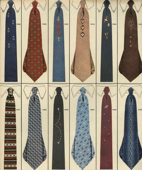 Image result for 1950s ties