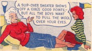 EOF SWEATER GIRLS- Pull The Wool Over Your Eyes