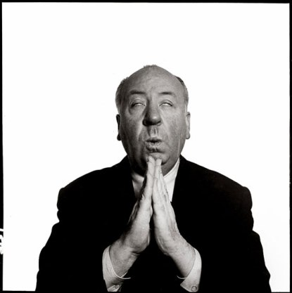 Ham it Up Hitchcock- Praying with Richard Avedon