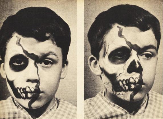 Vintage Halloween Makeup  The Eye of Faith Vintage 111111 - Classic Halloween Makeup