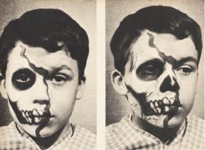 Vintage Halloween Makeup