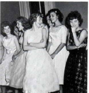 1960s dance PA Duryea 1960 Girls Waiting To Dance
