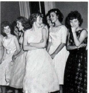 1960s dance PA Duryea 1960 Girls Waiting To Dance