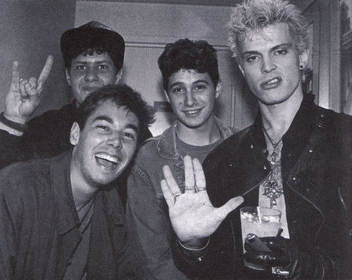 billy idol beastie boys pic