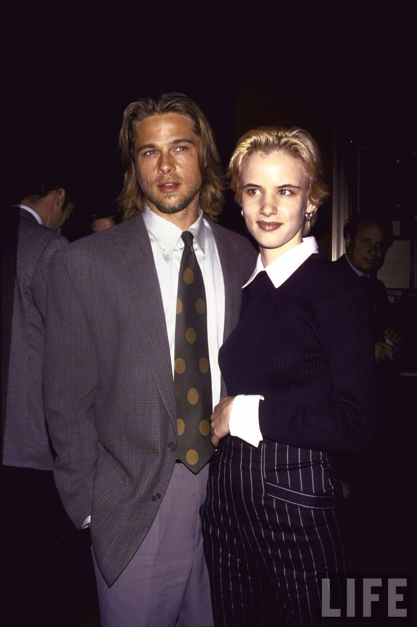 VINTAGE RED CARPET ROMANCES: Brad Pitt + Juliette Lewis ...