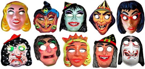 Mask ala Sharon Needles Halloween masks