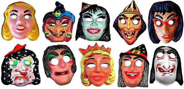 Mask ala Sharon Needles Halloween masks