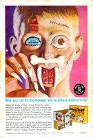 Mask Eye of Faith Costume Monster