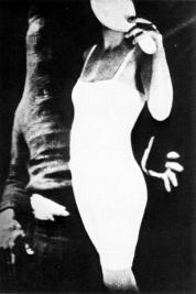 mask maruice tabard hand and woman 1929