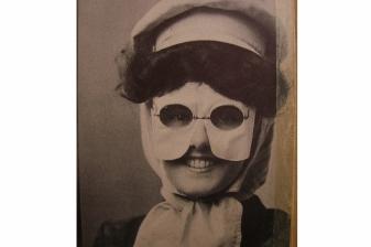 mask vintage-woman-mask