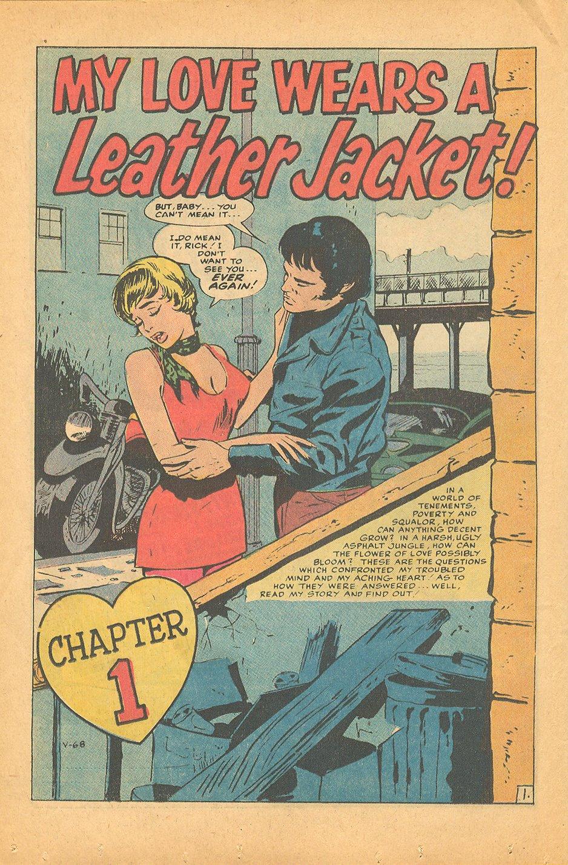 My Love Wears a Leather Jacket - The Eye of Faith