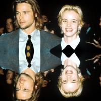 VINTAGE RED CARPET ROMANCES: Brad Pitt + Juliette Lewis