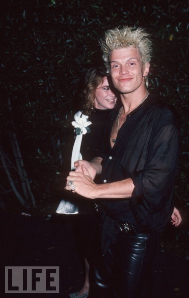 billy idol and mellissa gilbert
