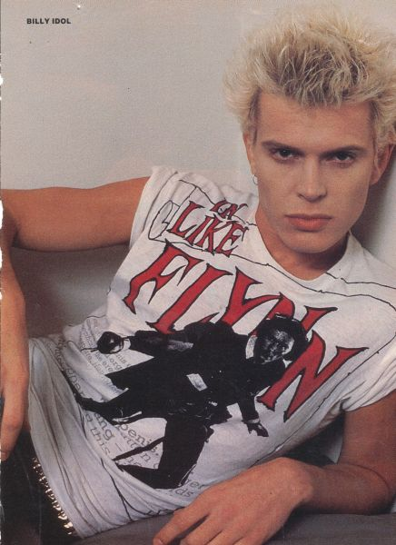 billy idol like flynn