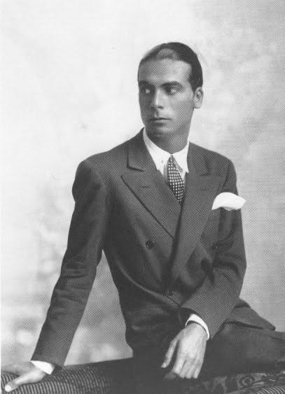 Cristobal Balenciaga Portrait Black and White