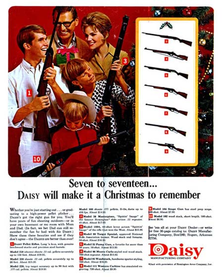 EOF Crazy Christmas - Daisy Christmas Guns