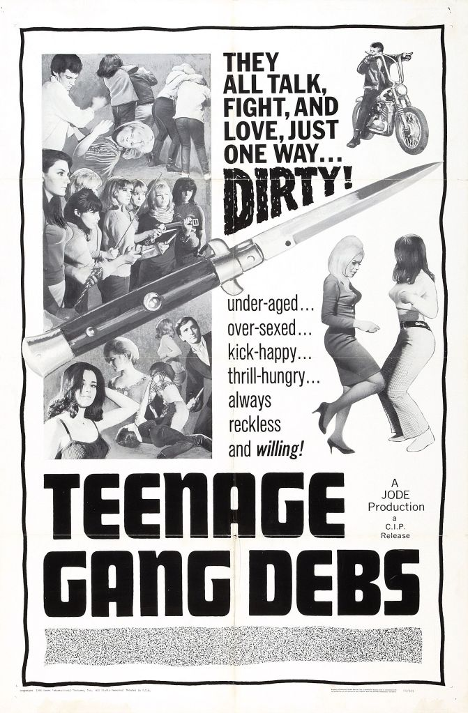 EOF- Teenage Gang Debs Poster