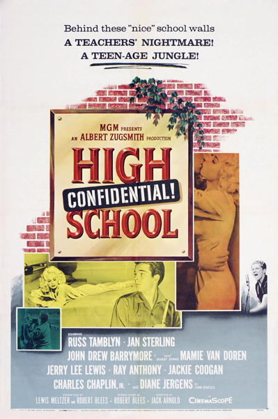 High School Confidential Poster