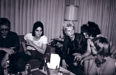 joan jett and billy idol black and white