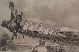 Krampus and the Babies