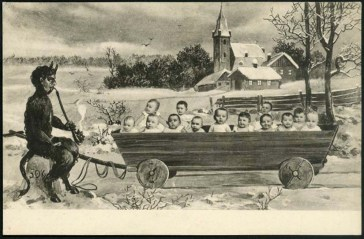 krampus baby wagon