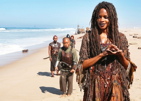 Naomie Harris Pirates of the Carribean Dead Man's Chest