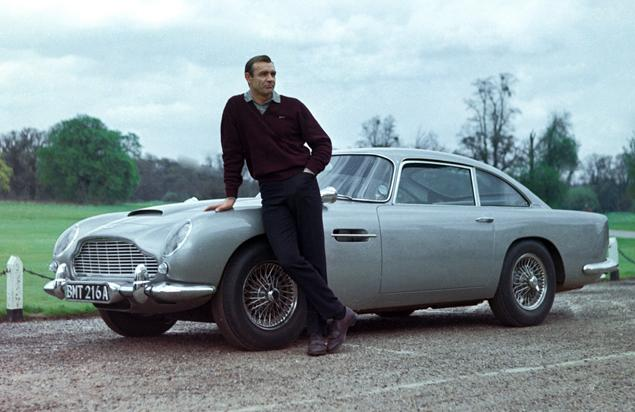 Astin Martin DB5- Goldfinger - PHOTO