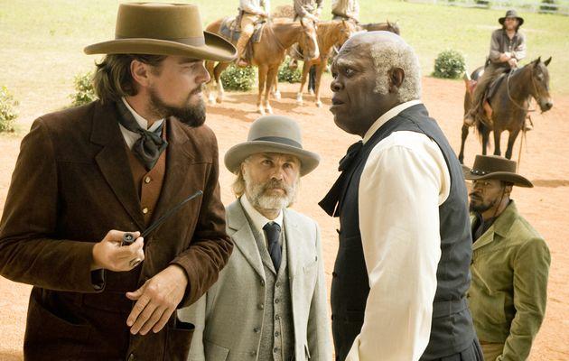 Django Uncahined- Leo, Samuel L Jackson, Christoph Waltz, Jamie foxx