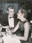 JAMES DEAN AND URSULA ANDRESS