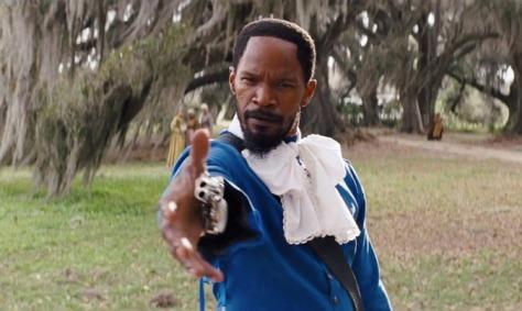 Jamie Foxx- Blue Boy Costume- Django Unchained