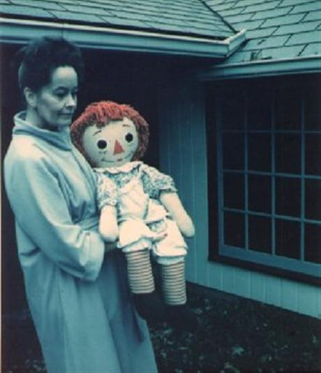Lorraine Warren and Her Creepy Haunted Rag Doll