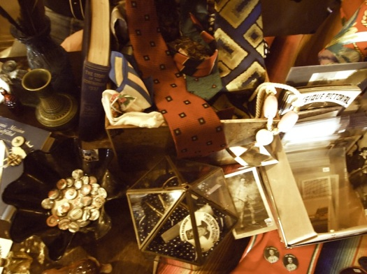 The Table Full of Treasure at The Junction Flea {1/1/13}
