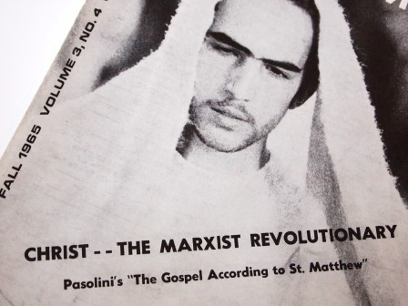 1960s FILM COMMENT Magazine - Passolini and Christ: The Marxist Revolutionary