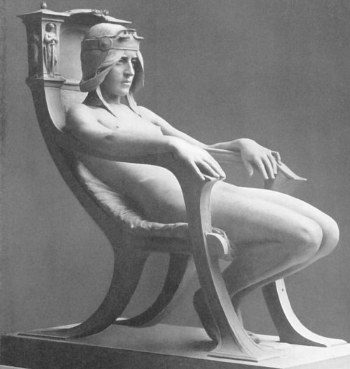 The Spirit of Contemplation (1901) by Albert Toft {1862 - 1949}