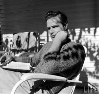 Marlon Brando in a Sweater