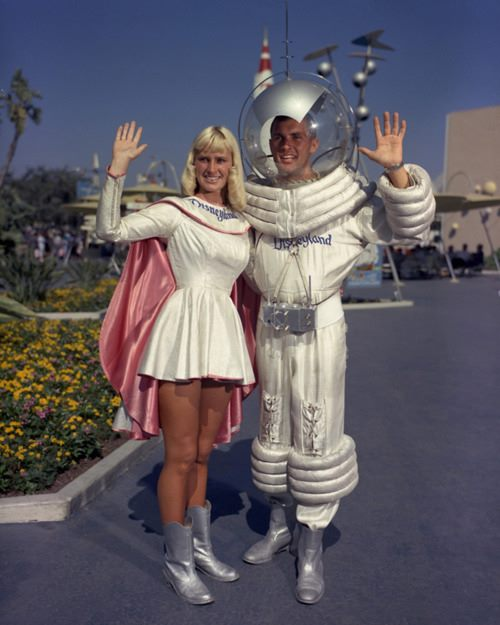 TomorrowLand, Disneyland c. 1960