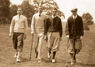 Men Wear Sweaters to Golf