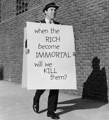 when the rich become immortal..