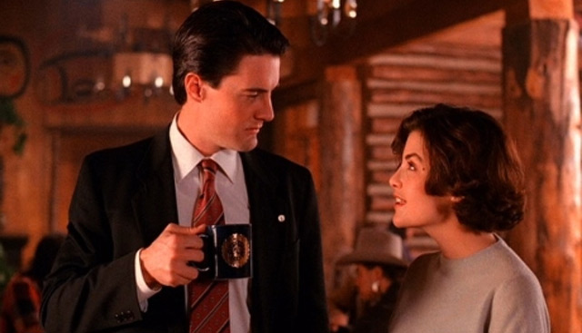 AUDREY AND COOPER- TWIN PEAKS