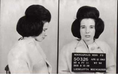 Bad Girl Vintage Fashion- Black and White Mugshot