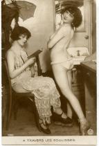 Behind the scenes- 1920s cabaret- paris