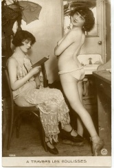 Behind the scenes- 1920s cabaret- paris