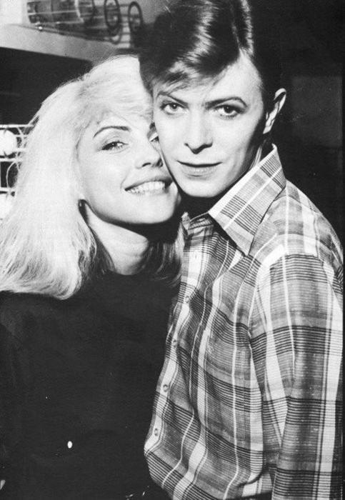 David Bowie and Debbie Harry- vintage style idols - the eye of faith